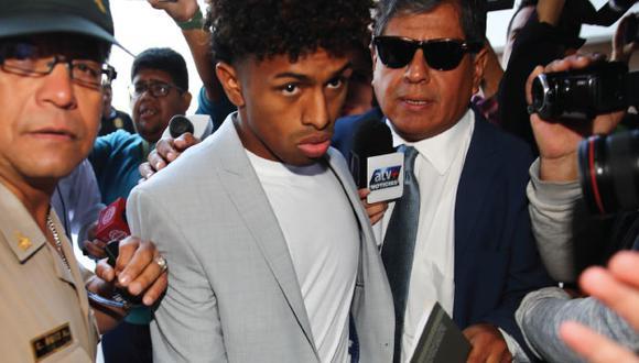 El abogado del Reyna aseguro que futbolista está dispuesto a colaborar con la justicia para que esclarecer los hechos del caso. (USI)