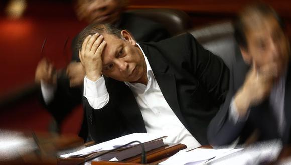 Marco Arana hizo una última invocación antes de la censura de Jaime Saavedra en el Congreso. (Renzo Salazar)