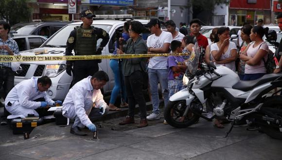 Falleció el policía en retiro Eliseo Carranza Gonzalestras asalto a casa de cambios (Foto: José Rojas Bashe / El Comercio)