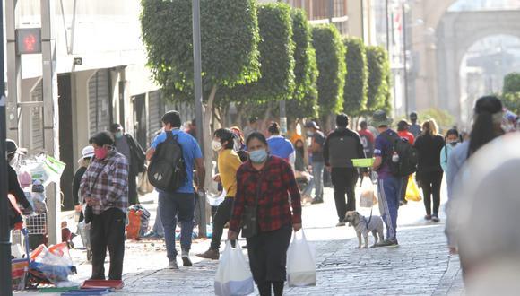Médicos y empresarios sostiene que cuarentena no funcionó como esperaban en Arequipa (Foto: Leonardo Cuito/GEC)