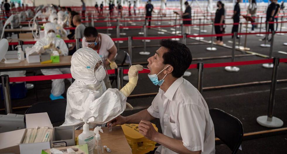 Beijing suma un nuevo positivo de coronavirus, con un total de cuatro en toda China. (AFP/NICOLAS ASFOURI).