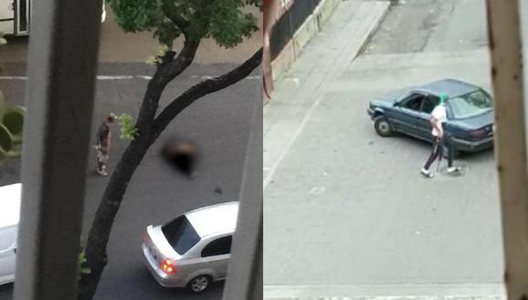 Medio locales reportan heridos y muertos por balas perdidas disparadas por bandas criminales en la Cota 905. (Foto: Twitter)
