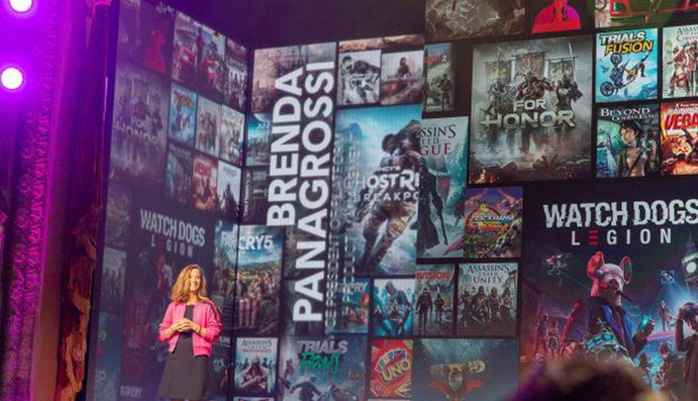 Brenda Panagrossi, vicepresidenta de gestión de productos y plataformas de Ubisoft, habla sobre UPLAY Plus (un servicio de juegos de suscripción). (Foto: EFE)