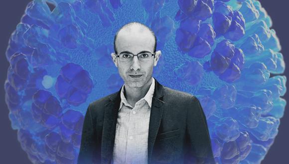 """Yuval Harari también es autor del libro """"Homo Deus: breve historia del porvenir"""" (2015)"""