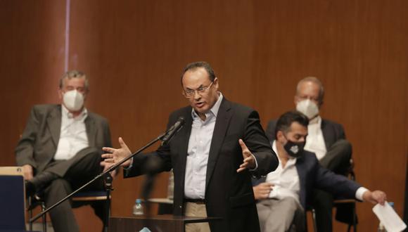 Economista Luis Carranza. (Renzo Salazar/GEC).
