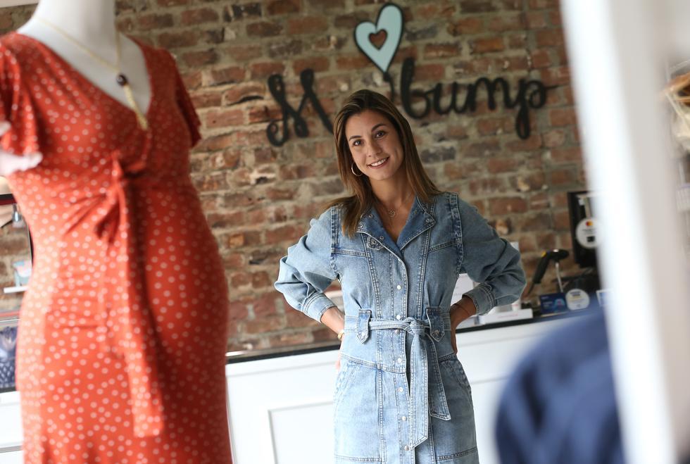 Con más de cinco años en el mercado, Luciana Rey ha logrado posicionar a My bump como una alternativa innovadora en el sector maternidad. (Manuel Melgar/GEC)