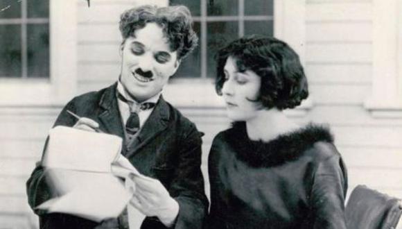 Salió a la luz el documento de divorcio de Charles Chaplin.(leaderpost.com)