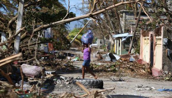 US$2,000 millones en daños ocasionó el huracán Matthew en Haití