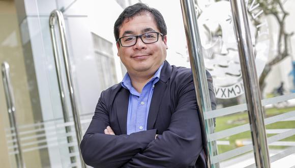 Benjamín Castañeda, el ingeniero que lidera el desarrollo del respirador Masi para pacientes con COVID-19.