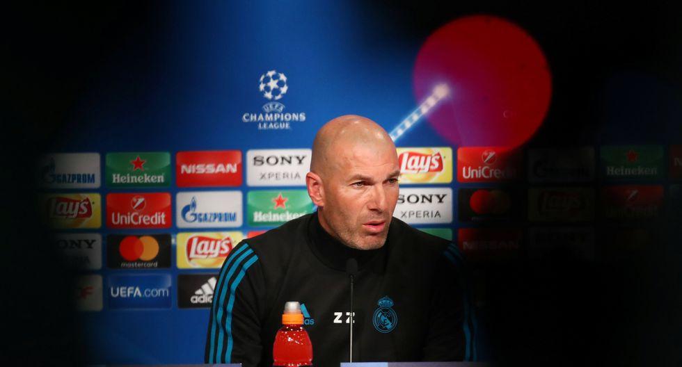 Bajo la dirección de Zinedine Zidane, Real Madrid visitará a Bayern Munich este miércoles, desde la 1:45 de la tarde, en Alemania. (REUTERS)