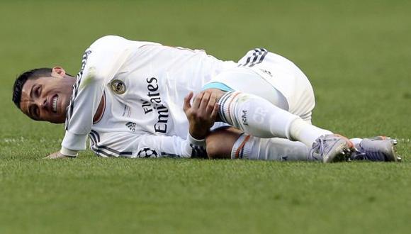 Cristiano Ronaldo se perdería el Mundial por lesión. (EFE)