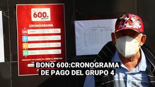Bono 600 soles: Este es el cronograma para el pago en agencias a beneficiarios sin cuentas bancarias