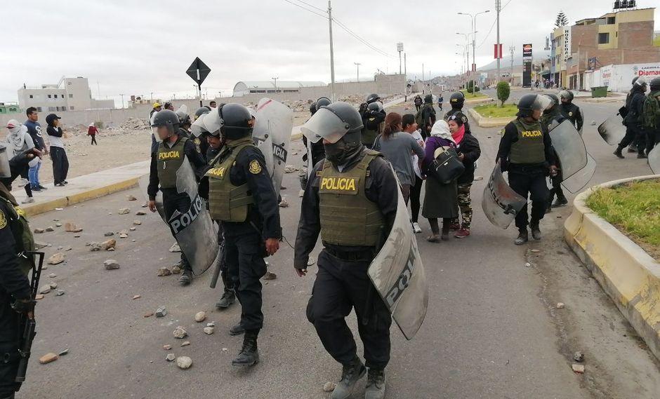 La Policía tendrá que intervenir ant eel bloqueo de carreteras.