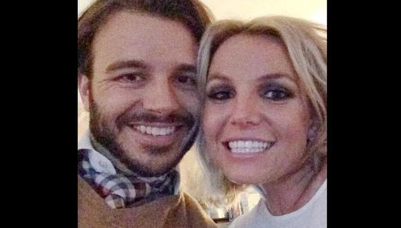 Britney Spears se luce junto a su nuevo amor, Charlie Ebersol. (Instagram Britnet Spears)