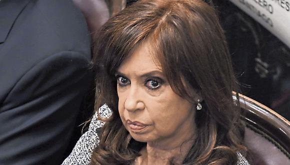 Con todo. Cristina Fernández anunció que acudirá a la CIDH. (USI)
