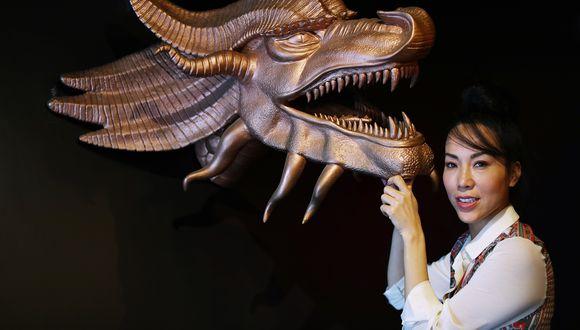 Patty Wong, la ex modelo de televisión, ahora empresaria. (FOTOS: ALESSANDRO CURRARINO)