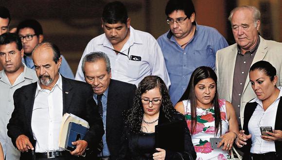 Insatisfechos. Los miembros de la comisión Lava Jato evaluarán los descargos de Kuczynski para decidir si apoyan o no la vacancia. (GeraldoCaso/Perú21)