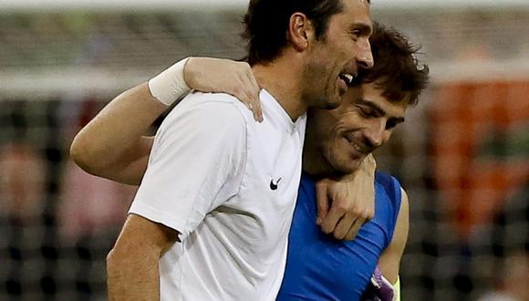 Buffon no podrá disputar próximo Mundial con Italia. (EFE)