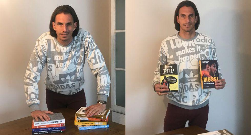 Según el artillero del 'Muni', la lectura es la forma perfecta para que un futbolista pueda entender mejor el juego. (Alfredo Luna Victoria/Perú21)