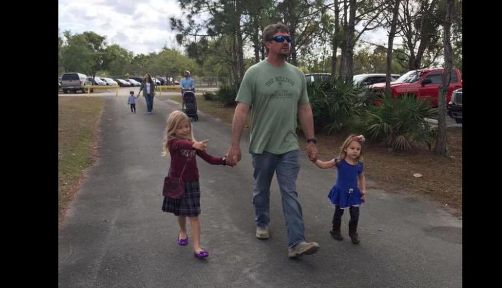"""Miami: Esposa de víctima del puente caído no sabe cómo explicarles a sus hijas que """"su papá no regresará"""" (Facebook)"""