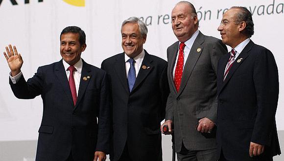 Humala se reunió con autoridades europeas y latinoamericanas. (Reuters)