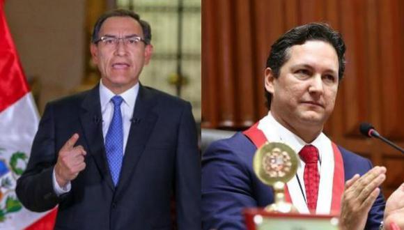 El domingo pasado, el presidente Martin Vizcarra solicitó la cuestión de confianza al Congreso. (Fotos: Congreso de la República)