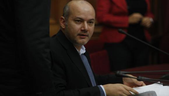 Sergio Tejada, presidente de la megacomisión. (USI)