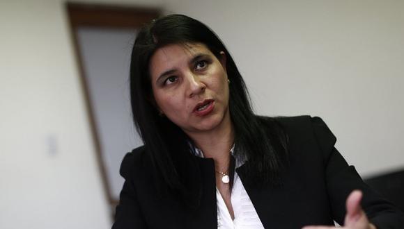 La procuradora Silvana Carriónaclara que PJ no podía modificar el acuerdo . (Foto: GEC)