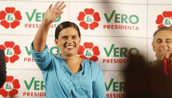 Verónika Mendoza dará conferencia de prensa esta tarde. (Mario Zapata/Perú21)