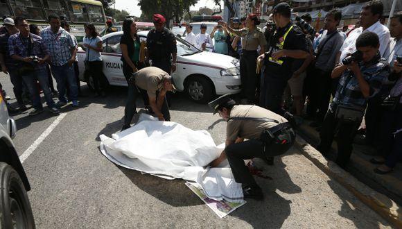 Accidentes de tránsito no se detienen: Ayer murió una joven con discapacidad.  (César Fajardo)