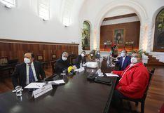 Consejo de Estado se reunió en Palacio de Gobierno para buscar salida a la crisis