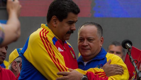 El Ejecutivo estadounidense también ofrece 10 millones de dólares por Diosdado Cabello, el presidente de la Asamblea Nacional Constituyente (ANC) y uno de los hombres fuertes del chavismo. Foto: EFE