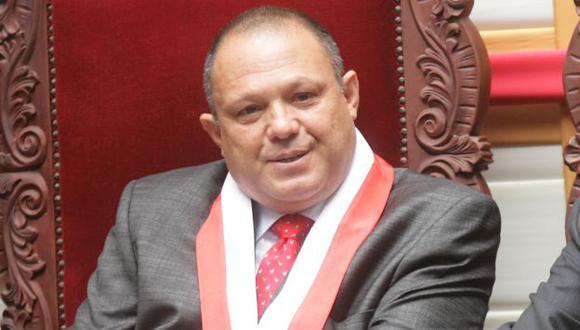 Magistrado Carlos Mesía denunció al Estado peruano ante la Corte-IDH. (César Fajardo)