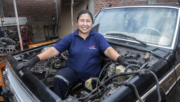 Jaida Yepez ganó el Premio Mujeres Emprendedoras 2020. (FOTO: EDUARDO CAVERO).