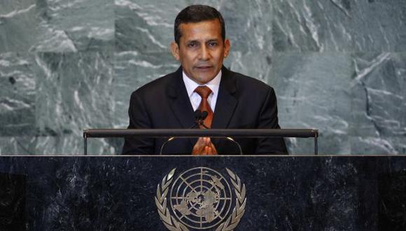 Ollanta Humala ya solicitó el permiso al Parlamento. (Reuters)