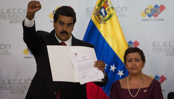 Pese a su triunfo, analistas consideran que Maduro es un caudillo improvisado y no duraría los seis años de gobierno. (EFE)