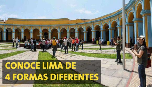Prueba estas 4 formas distintas de conocer Lima por su aniversario.
