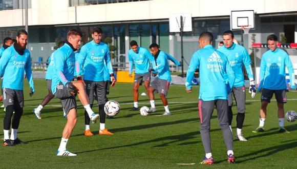 Sergio Ramos regresa a todo ritmo a la Champions (Foto: @realmadrid)