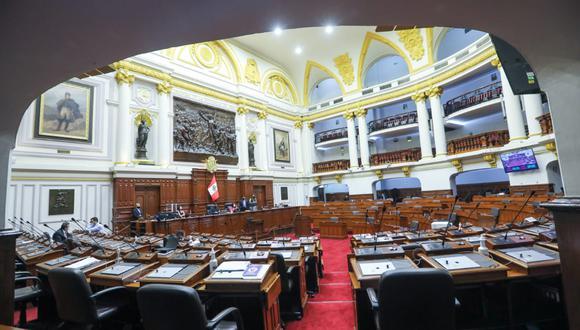 Tres ministros expusieron ante el Congreso tras el paro de transportistas. (Foto: Congreso)