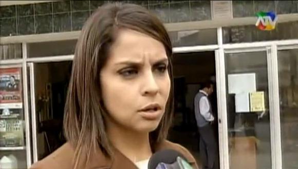 Carolina Macedo espera que las autoridades hagan algo por su caso. (ATV)