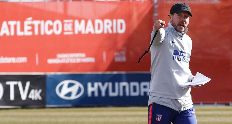 Diego Simeone seguirá en el Atlético de Madrid hasta el 2022. (Atlético de Madrid)