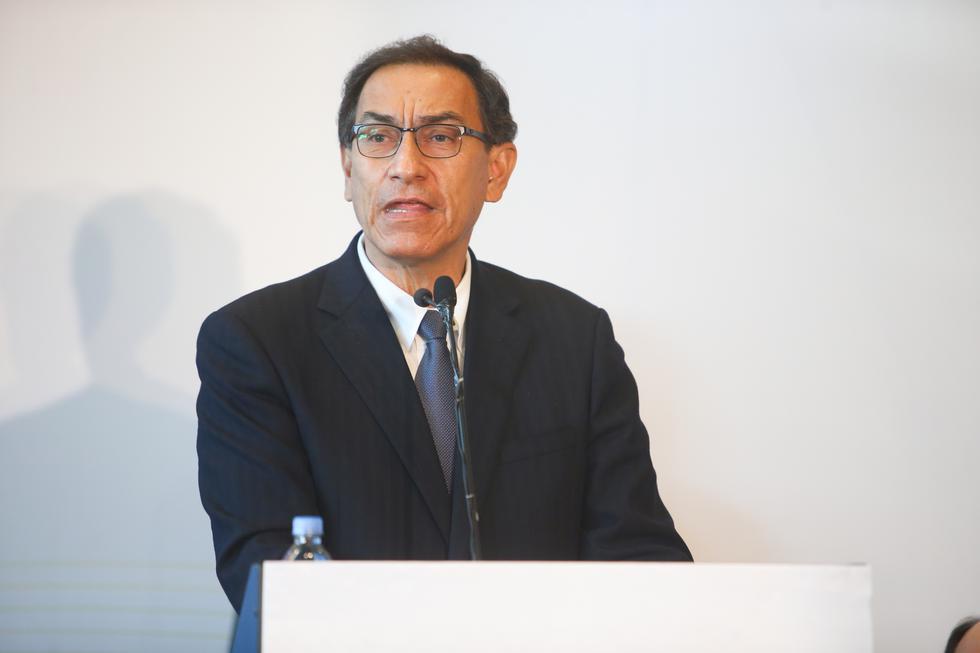 """El presidente Martín Vizcarra inauguró la III Cumbre Empresarial """"Hecho en las Américas""""  (Presidencia)"""