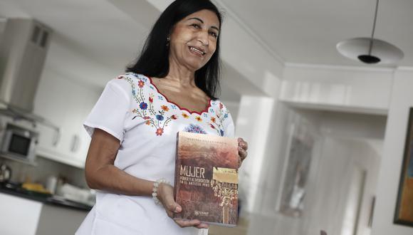 Maritza Villavicencio estudia e investiga, desde la década del ochenta, el rol de la mujer en periodos antiguos.