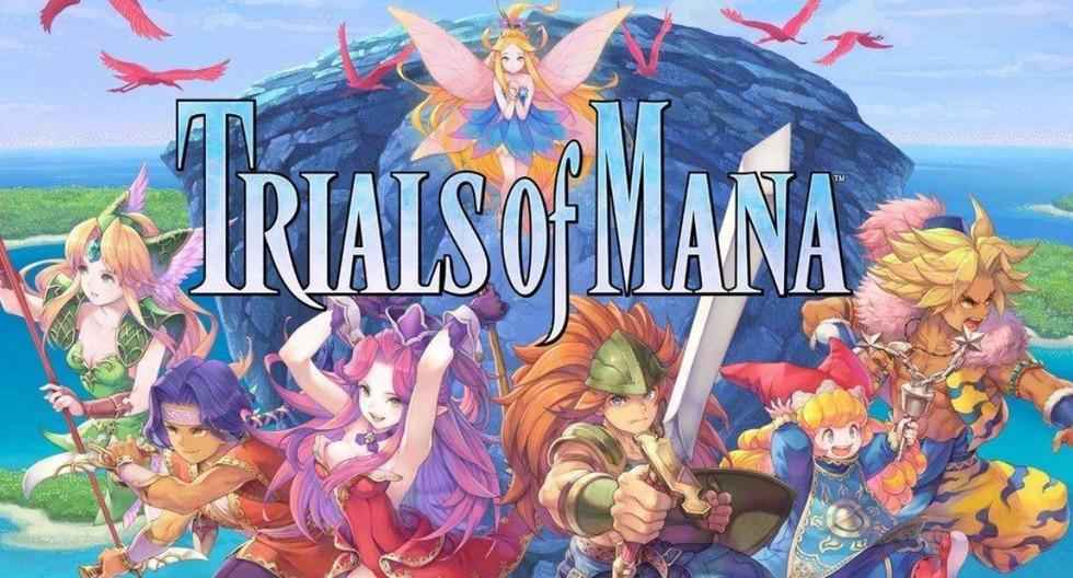 'Trials of Mana' saldrá a la venta el próximo 24 de abril para PS4, Nintendo Switch y PC (Steam).