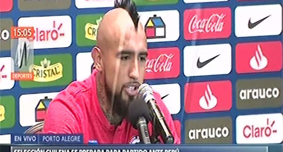 Arturo Vidal aseguró que respeta a Perú y augura un partido de semifinal de Copa América bastante parejo. (Video: Canal N)