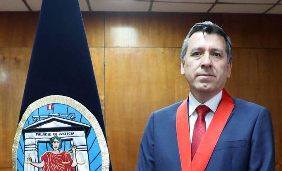 Rivera Gamboa remplazará como a Rolando Alfonzo Martel Chang como presidente del distrito judicial de Lima Centro. (Foto: Poder Judicial)