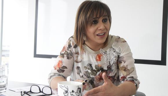 """Giselle Zegarra también afirmó que mantuvo una """"relación contractual profesional"""" con la empresa brasileña OAS en el 2014. (Foto: GEC)"""