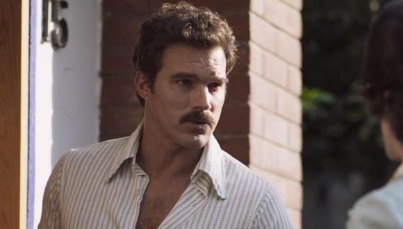 León Peraza fue el actor que interpretó a Andrés García en la serie de Netflix (Foto: Instagram)