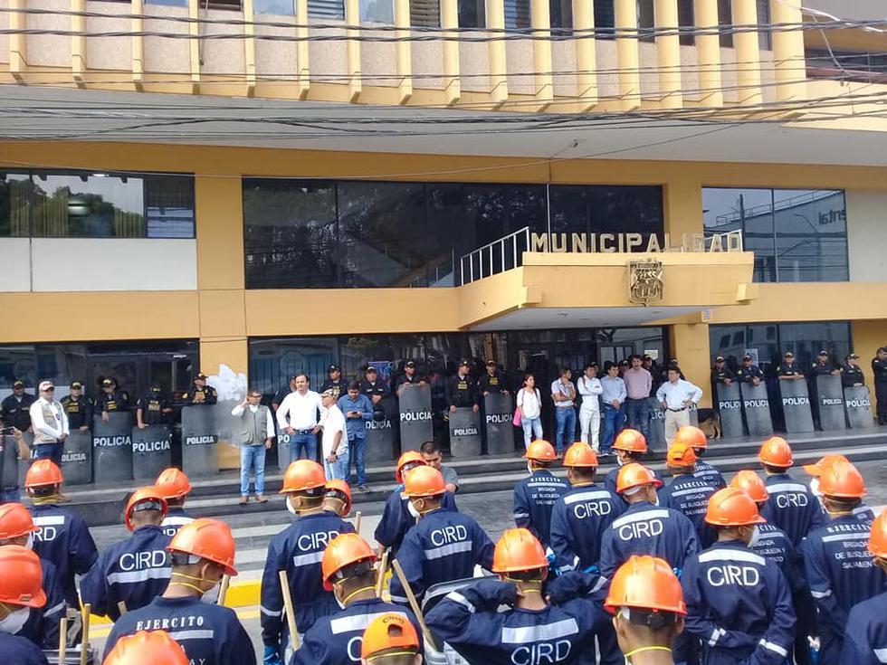 Alcalde Juan José Díaz Dios anunció medidas. (Municipalidad de Piura)