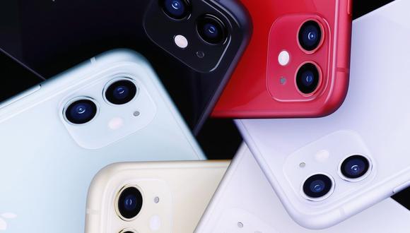 El iPhone 11 cuenta con doble cámara, y su versión Pro tiene tres lentes posteriores. (Foto: EFE)